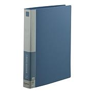 齊心 D型夾附壓紙條 (藍) 1.5寸2孔  TC532A-D-X