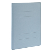 易優百 紙質裝訂報告夾量販 (藍) A4 10個/包