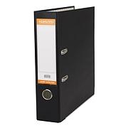 國譽 半包膠檔案夾 (黑) A4/3寸  W-FUAL290D