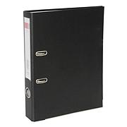 得力 PVC半包胶档案夹 (黑) A4 2寸  5480