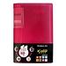 齊心 I Color可變背脊名片冊 (紅) 360枚  SC360
