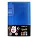 齊心 I Color可變背脊名片冊 (藍) 360枚  SC360