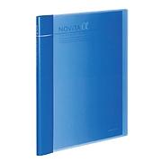 国誉 NOVITA α可替换型背幅可调节收纳册(含外壳) (蓝)  RA-NT24B
