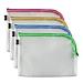 金得利 EVA网格拉链袋(L型拉链) (混色) B5  FB8742