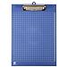 富得快 塑料板夹 (蓝) A4竖  HY6101