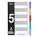 富得快 PP分類索引頁 (彩色) 5級  FD-500