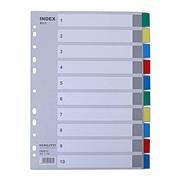 易優百 彩色PP分類索引 (彩色) 10級  EB0632