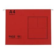 益而高 快勞文件夾 (紅) A4 40個/包  9351A