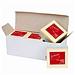 易优百 易优贴自粘便条纸粉彩超值包6包装 (4色) 76*76mm 100页/本 4本*6包/盒  EB-654S