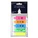 易优百 透明塑料指示标签 (5色) 12*45mm 20页*5条/包  EB-683-5