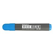 易優百 塑殼白板筆 (藍) 10支/盒  EB-45