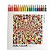 国誉 DUAL COLOR 2色混色彩色铅笔套装 (20色) 20支/盒  KE-SP14