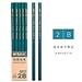 晨光 六角木桿鉛筆 2B 10支/盒  AWP35715