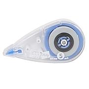 易優百 修正帶 (藍) 5mm*7m  EB-505