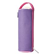 國譽 C2-R圓筒式筆袋 (紫)  WSG-PC62-V