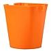 優和 筆筒 (橙) 方形  6904