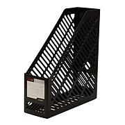 遠生 資料架 (黑) A4 單格  US-9881