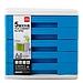 得力 文件柜 (藍) 五層  9762