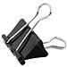 齐心 强力长尾票夹 (黑) 5# 19mm 12个/盒  B3609