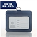 文久 真皮证件卡套 (深蓝) 横式 5个/包  901