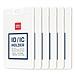 得力 滑蓋式證件卡 (白色) 豎式  8315