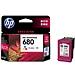惠普 打印机墨盒 (彩) 680号  F6V26AA