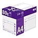 易優百 高級型復印紙 5包/箱  A4 80g