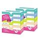 妮飘 纤巧盒装面巾纸 150抽×5盒  BFA150*5P