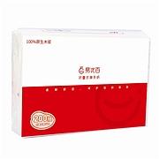 易优百 单层200抽折叠式擦手纸 200抽/包  单包装