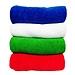 敏胤 超细纤维珊瑚绒多功能清洁巾 (混色) 30*60cm  M3060