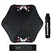 酷MA萌 圓角晴雨傘 (黑) 直徑115cm  K25CP088-1