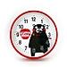 酷MA萌 卡通時鐘 (紅)  K14DR0073-1