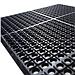 麗施美 特豪孔式橡膠防滑墊 (黑色) 0.6*0.9m  XJAS10-060090