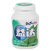 益達 木糖醇無糖口香糖 56g(約40粒裝)  冰涼薄荷味
