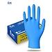 登升 一次性丁腈檢查手套 (海洋藍) 100只/盒  M
