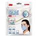 3M PM2.5帶呼吸閥防護口罩 (藍) 3只/袋  9501C
