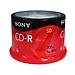 索尼 CD-R刻录盘 700MB 50片/筒  50CDQ80S1