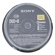 索尼 DVD+R刻錄盤 4.7GB 10片/筒  DVD+R 10DPR47