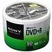 索尼 DVD+R光盤/刻錄盤 50片/筒 環保裝  16速4.7G