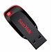 闪迪 USB2.0 U盘 (红黑色) 16G  CZ50酷刃
