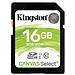 金士頓 UHS-I 高速SD存儲卡 16G(Class10)  讀速80MB/s