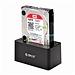 奧睿科 串口移動硬盤盒 硬盤底座 高速USB3.0 SATA  6619US3-BK