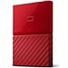西部數據 New My Passport 2.5英寸 移動硬盤 (中國紅) 2TB  WDBS4B0020BRD