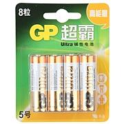 超霸 高能量堿性電池 5號  GP15AU-2IL8