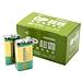 超霸 9V碳性电池无汞 10粒/盒  GP1604G-S1