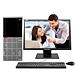 聯想 ThinkCentre商用辦公臺式電腦整機 (G4900 4G 1T Win10H 19.5英寸顯示器)  E96