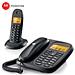 摩托罗拉 数字无绳子母电话机 (黑)  CL101C