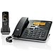 集怡嘉 Gigaset数字无绳电话机子母机 (黑色) 带留言功能  C810A