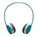 雷柏 蓝牙立体声麦克风耳机 (蓝)  H6020