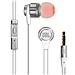 JBL 立体声入耳式耳机 (白) 带麦可通话  T180A